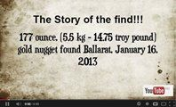 117 Ounce Nugget Story of the find