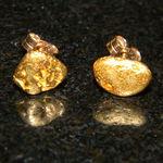 Nugget stud earrings